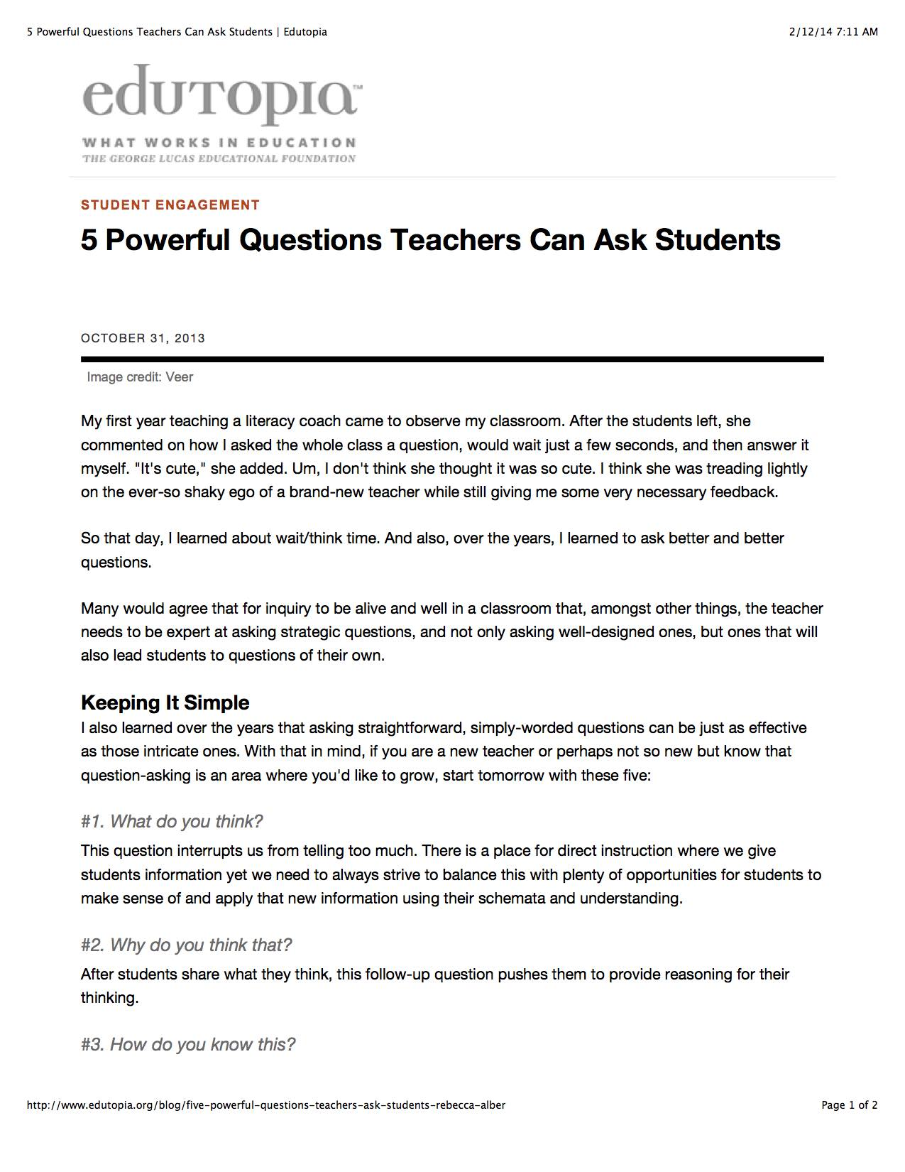 5 powerful questions teachers can ask students inflexion