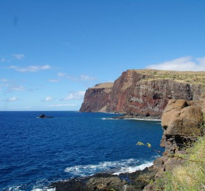 Hawai'i cliff