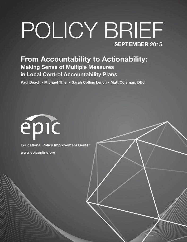 Policy Brief Cover Page