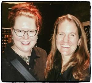 Kirsten Aspengren with Jessica Lindl