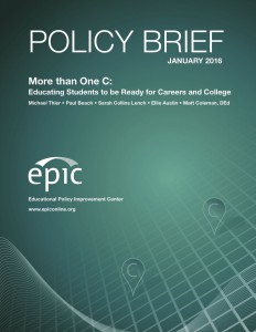 Policy Brief: More Than One C