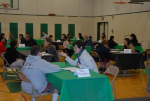 EPIC staff engage in college and career guidance sessions at Hamlin Middle School