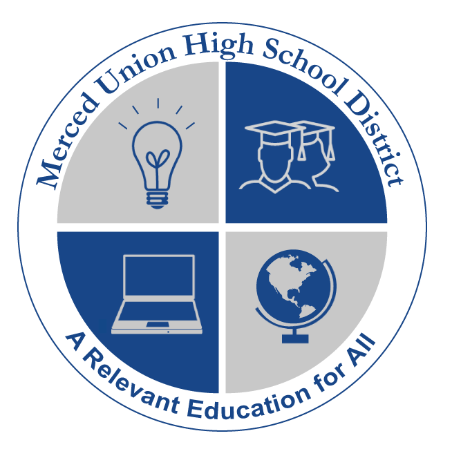 Merced Union High School District Logo
