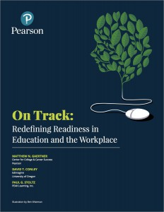On Track: Redefining Readiness in Education and the Workplace (cover image)