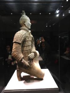 The only terracotta warrior found in one piece.