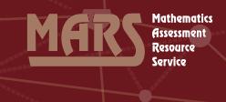 Mathematics Assessment Resource Service