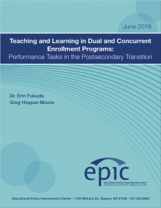 teaching and learning in dual and concurrent enrollment programs cover page