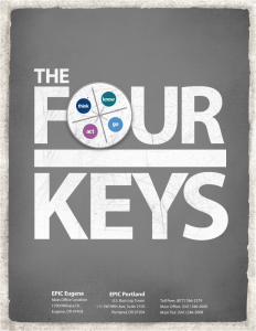 four keys reference guide report cover