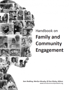 handbook on family and community engagement cover