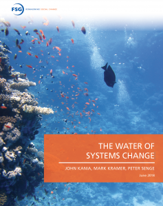 The Water of Systems Change Cover Page